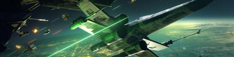 Vesmírná střílečka Star Wars: Squadrons v prvních gameplay záběrech