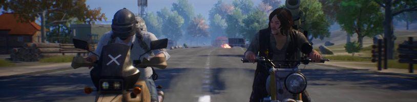 PUBG Mobile přidává postavy, zbraně a vozidla z The Walking Dead
