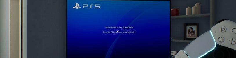 Nevyšla na vás konzole PS5? Vychutnejte si první momenty v simulátoru