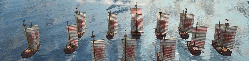 Age of Empires 4 ukazuje námořní bitvy a jednu z dynastií