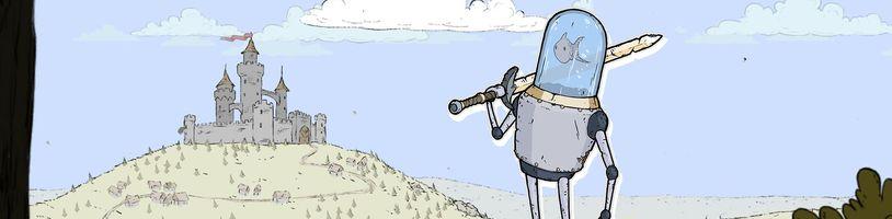 Rybička, která řídí dobrodružného robota? Právě vyšla nová česká hra Feudal Alloy