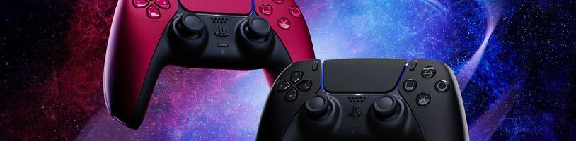 Představeny první nové barevné varianty ovladače DualSense pro PS5
