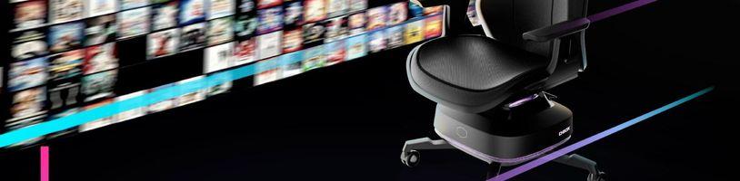 Cooler Master představil herní židli s haptickou odezvou