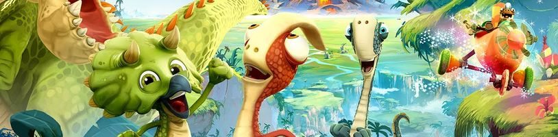 Prehistorický svět ve hře Gigantosaurus je pro velké i malé hráče