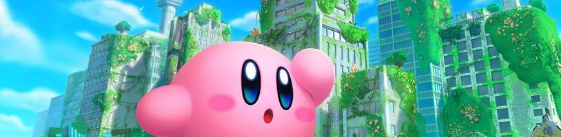 Kirby se vrací. Podívejte se na Kirby and the Forgotten Land