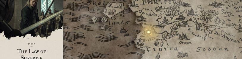 Projděte se po Zaklínačově Kontinentu pomocí interaktivní mapy