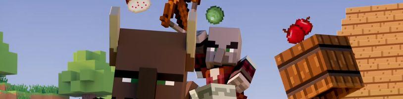 Minecraft dostává svůj největší update vůbec