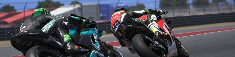 MotoGP 20 poprvé vyjíždí na trať