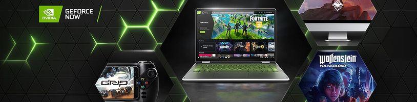 Epic Games podporují GeForce Now