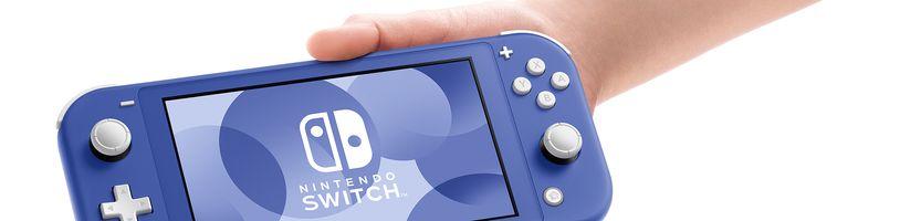 Nintendo Switch Lite se bude prodávat v nové barvě