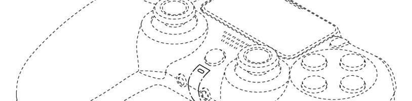 Nové patenty odhalily vzhled DualShocku 5 a účel cartridge