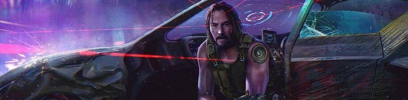 Keanu Reeves se zamiloval do Cyberpunku 2077 a požádal o dvojnásobný čas pro svou postavu