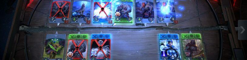 První screenshoty z nové karetní hry od Valve
