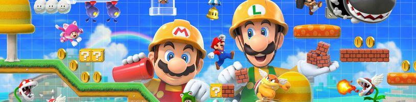Postavte si vlastní plošinovkové dobrodružství v Super Mario Maker 2 - tato hra není pouhým editorem úrovní