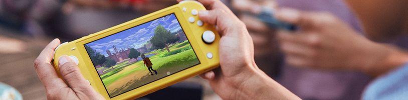 Nintendo představilo menší verzi klasické konzole Switch s přízviskem Lite