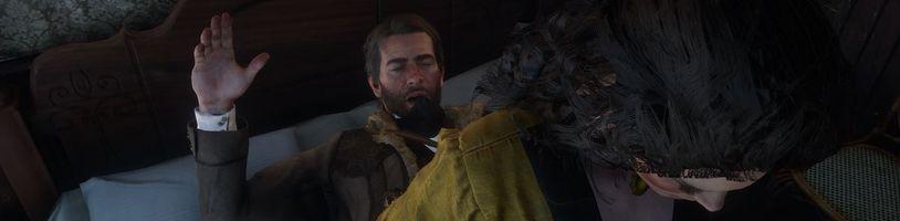 GTA V stále v kurzu a Red Dead Redemption 2 bojuje se sexem