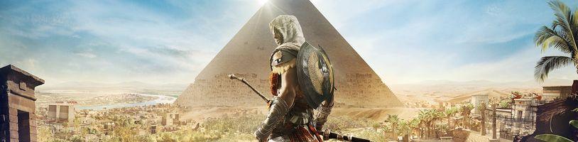 Assassin's Creed: Origins vám dovolí prozkoumat Egypt jako žádná hra předtím