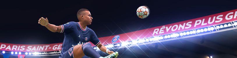 FIFA 22 vsadila na novou technologii HyperMotion
