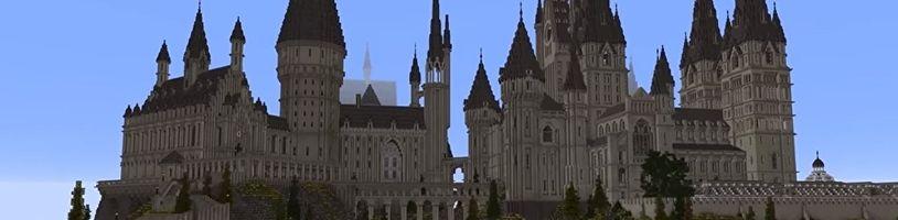 Svět Harryho Pottera ožije díky obrovskému modu pro Minecraft