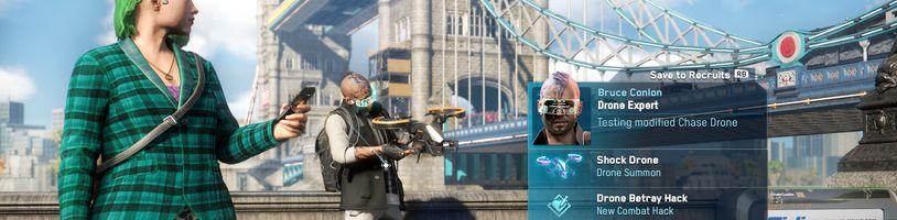 Watch Dogs Legion představuje variabilitu postav, zbraní a schopností