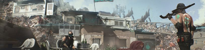 Pustina Badlands a slumy v Heywoodu z Cyberpunku 2077