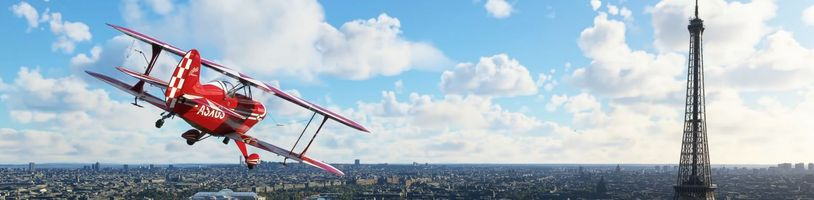 Microsoft Flight Simulator vylepšuje obrovskou a detailní mapu
