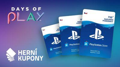 Vyhrajte nabití PlayStation peněženky s Days of Play!
