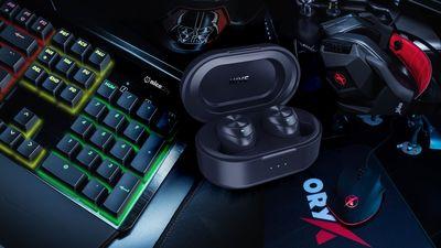 Niceboy herní set klávesnice, myši, podložky a headsetu + HIVE pods 2