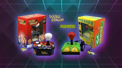 Arkádovky Double Dragon a Frogger