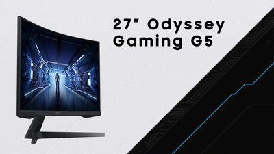 140Hz herní monitor Samsung Odyssey Gaming G5