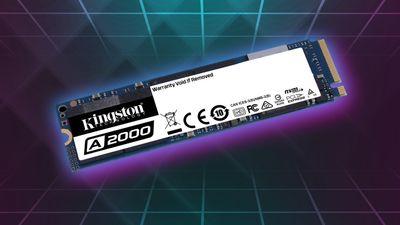 500 GB rychlý SSD disk Kingston A2000