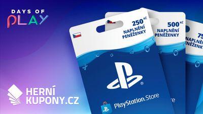 Naplňte si peněženku na PlayStationu s Herními kupony