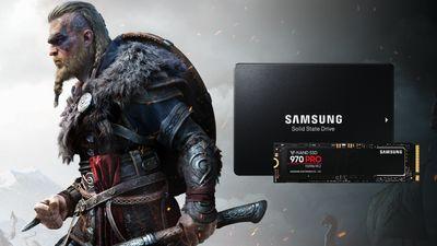 Vyhrajte Assassin's Creed Valhalla s disky od Samsungu
