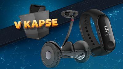 Soutěž V KAPSE o Ninebot S a Xiaomi Mi Band 3