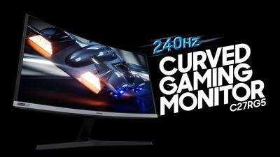 240Hz herní monitor Samsung 27RG50