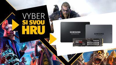 Vyhrajte hru dle vašeho výběru se Samsungem