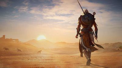Průchod Egyptem v Assassin's Creed Origins