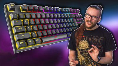 Nejlevnější klávesnice se spínači Outemu Blue - Niceboy ORYX K300X