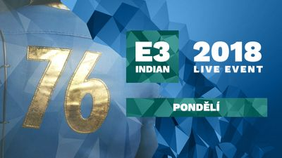 E3 2018 - Pondělí (Bethesda, Devolver Digital)