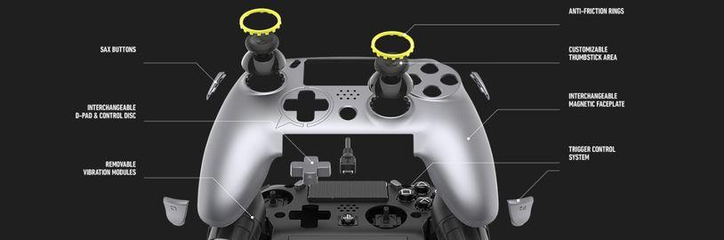 Profesionální verze playstationového ovladače je tu