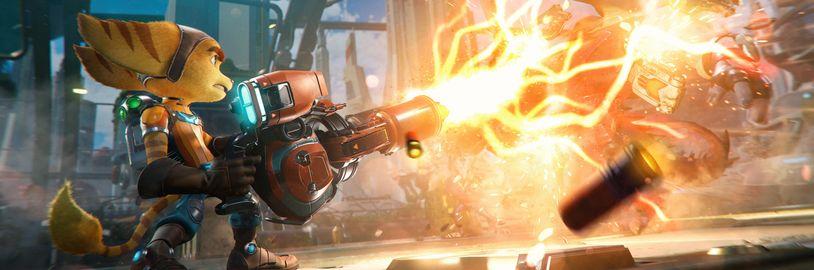 V Ratchet & Clank: Rift Apart na PS5 si vyberete mezi rozlišením a snímky