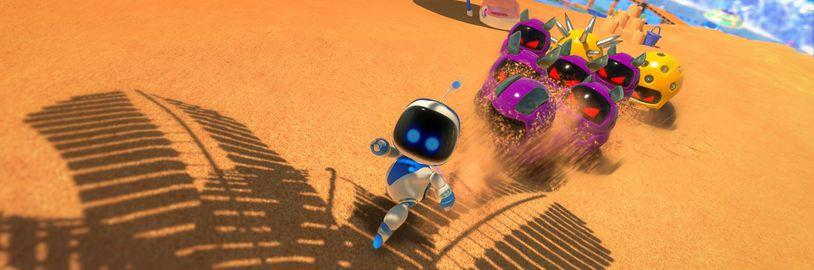 Roztomilá skákačka Astro's Playroom oslaví výročí PlayStationu