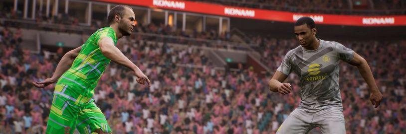 eFootball: Bezplatné PES bude při spuštění v podstatě demo