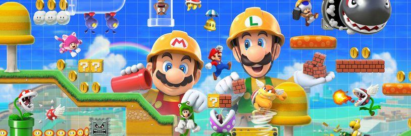 Vytvořte si vlastní Super Mario hru, Xbox Series S, Facebook se zaměřuje na streamování
