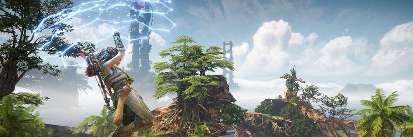 Srovnání San Franciska a prostředí z Horizon Forbidden West