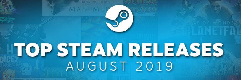 Nejprodávanější nové hry na Steamu za srpen 2019