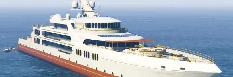 Luxusní jachty v GTA Online už nejsou jen na parádu