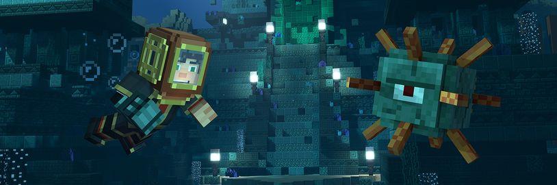 Byla oznámena druhá sezóna Minecraft: Story Mode