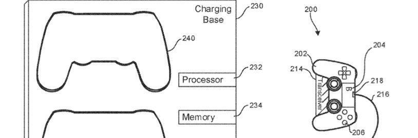 Sony si patentovala adaptér k ovladači pro bezdrátové nabíjení