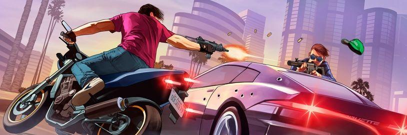 GTA 6 je ještě daleko. Take-Two do března 2022 vydá 21 her